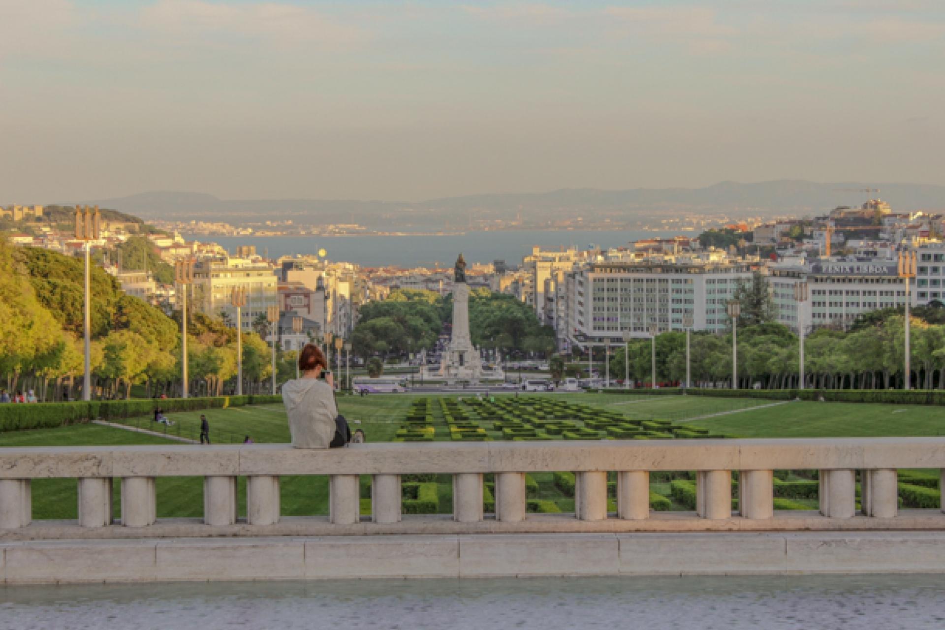 Lisboa Cool - Melhores Miradouros - Miradouro do Parque Eduardo VII