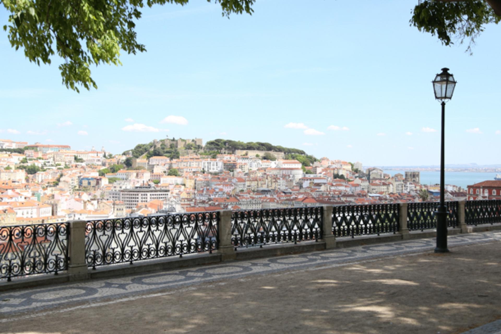 Lisboa Cool - Melhores Miradouros - Miradouro São Pedro de Alcântara