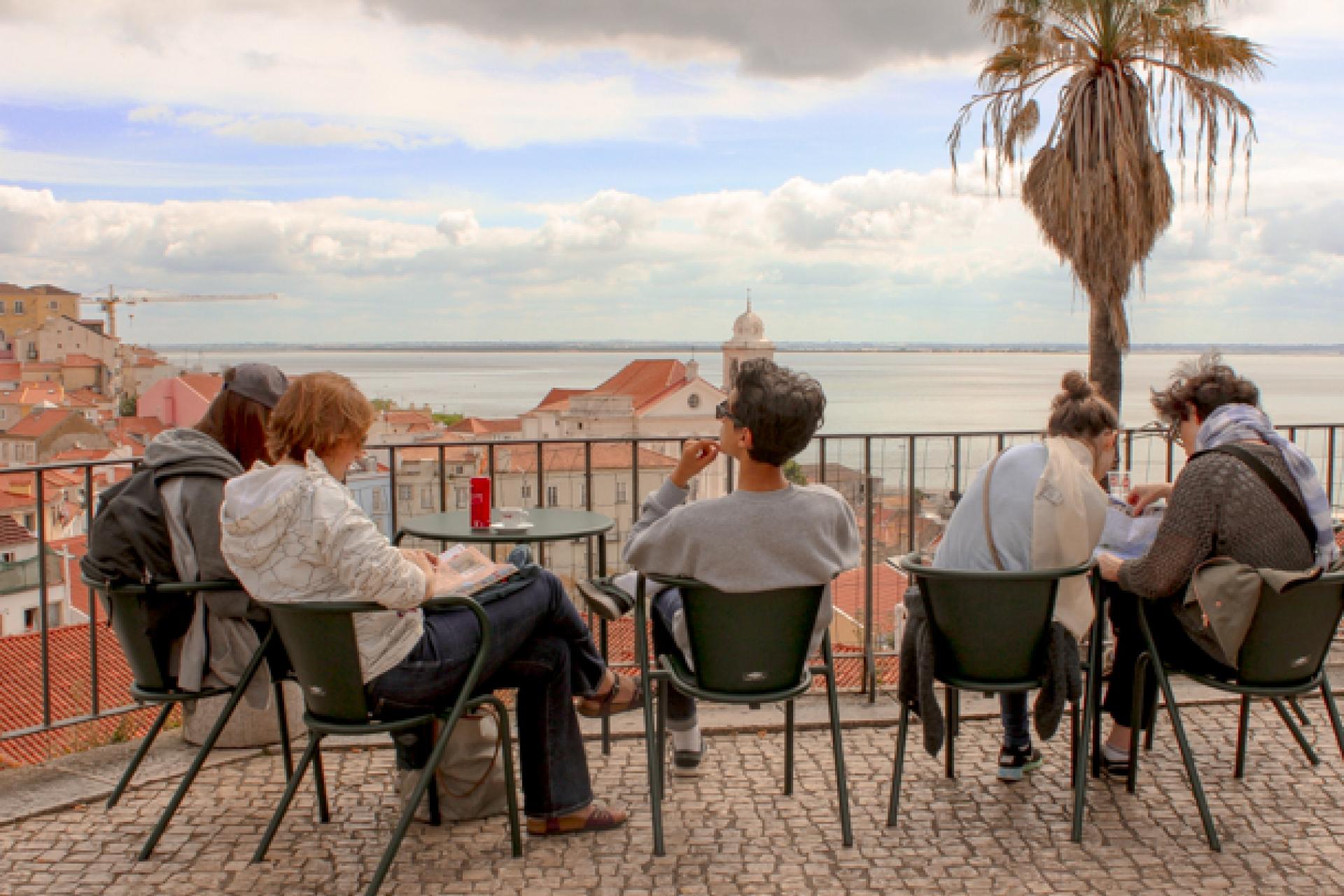 Lisboa Cool - Melhores Miradouros - Miradouro Portas do Sol