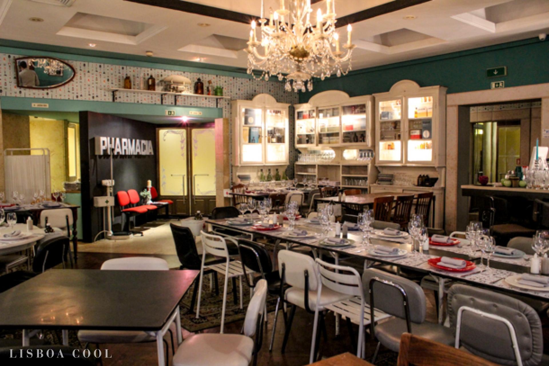 Restaurante pharm cia lisboa cool for Restaurant la cuisine dax