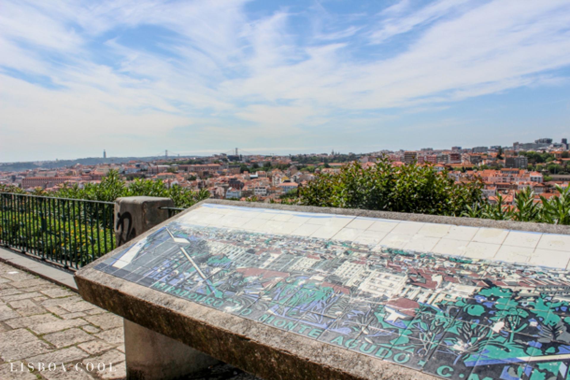 Monte Agudo Viewpoint Lisboa Cool