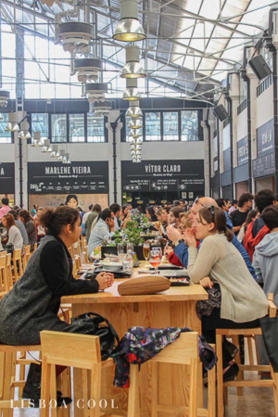 Descubra o melhor de Lisboa no renovado Mercado da Ribeira. a5a7e425d73e8